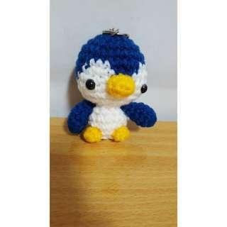 企鵝編織吊飾
