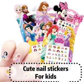 (2/4) Free normal mail - Cute mini fashionable nail stickers ( BUY 5 packs Free 1 pack )