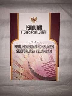 Buku peraturan otoritas jasa keuangan tentang perlindungan konsumen sektor jasa keuangan