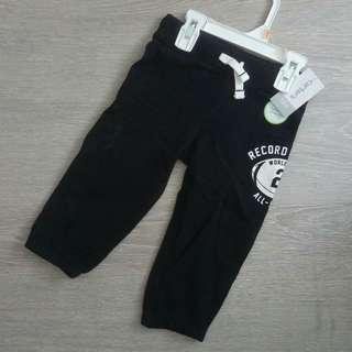 NEW 12M  Authentic Carter's Boy Sweat Pants