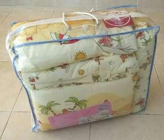 Baby Bedding Cot Crib Bumper Comforter Set