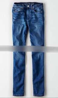 American Eagle AEO 女裝直筒深色牛仔褲