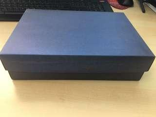 🚚 Paper Gift Box (Blue)