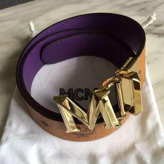 Authentic MCM Reversible Belt For SALE