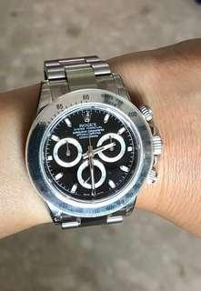 🚚 Rolex Daytona black