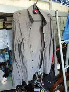 🚚 Men's Striped Dress Shirt