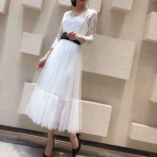 G5448280新款蕾丝纱纱裙