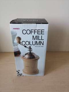 coffee mill column
