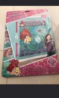 Disney Princess Scene Setter Little Mermaid Princess Ariel