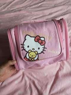 hellow kitty travel wash bag