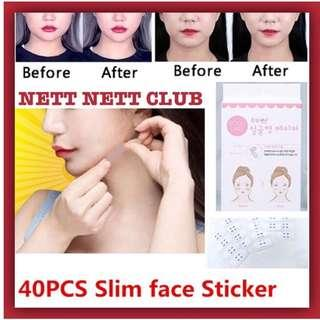 🚚 *NEW!* - DODO LABEL - V Face Maker | Double Chin Sticker | V Face