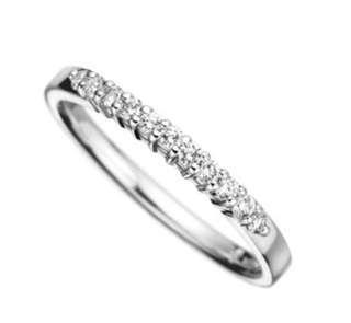 Authenic Goldheart Jewellery Classic Half Eternity Diamond Ring