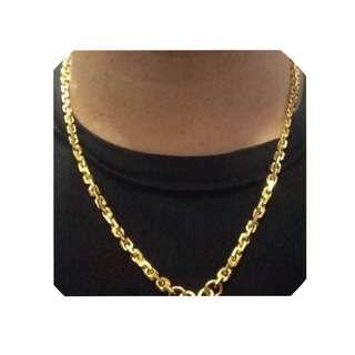 916 gold chain