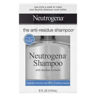 🌳旺角門市🌳💥Neutrogena Anti-residue shampoo 175ml 露得清 深層清潔 潔淨洗頭水 Magic Lab V2 💥