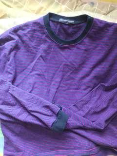 brandy melville purple top