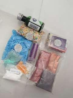 slime supplies/deco🙂