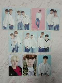 WTS SEVENTEEN Official 2018 Caratland photocards and 2018 & 2019 Season's Greetings