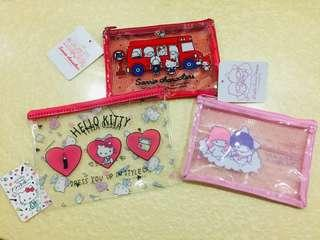 🚚 Sanrio Characters Pouches ( FOR SALE IN JAPAN ONLY ) 🌟 FREE POSTAGE 🌟