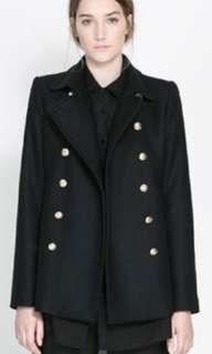 New wool zara jacket - small