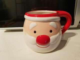 Large Santa Head Mug