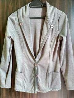 Grey Jacket Coat #SnapEndGame