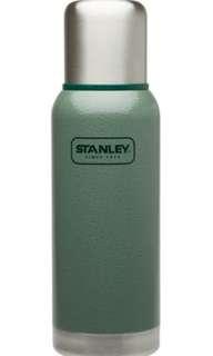 美國 Stanley 冒險系列真空保溫瓶 0.75L 錘紋綠
