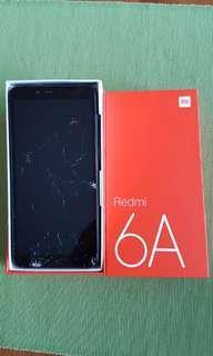 🚚 Redmi 6A - cracked screen