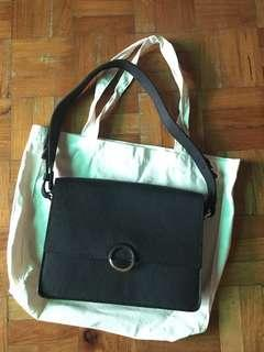 REPRICED! The Leather Company black shoulder bag