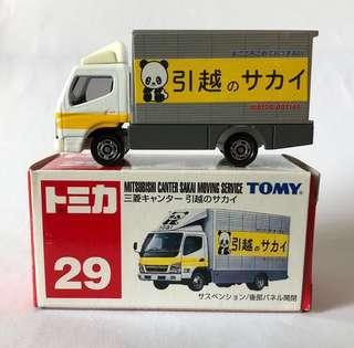 Tomica 29 貨車