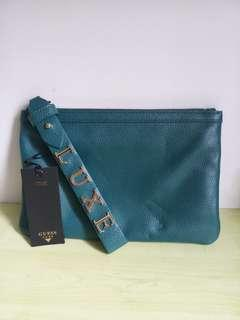 GUESS LUXE leather pouch