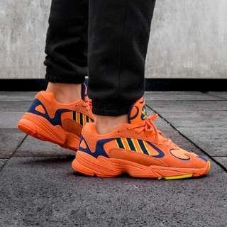 """Adidas Yung-96 Men's Sneakers """"Hi Res Orange"""" US MENS 7 8 9"""
