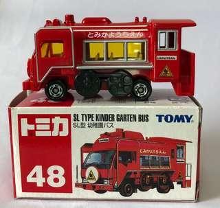 Tomica 48 幼稚園巴士