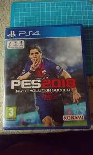 Used PES 2018 PS4