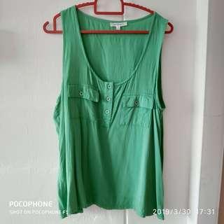 🚚 #sleeveless #shirt #top #green #ENDGAMEyourEXCESS