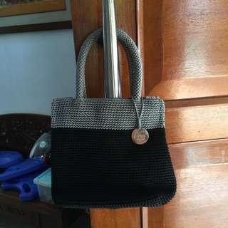 Dowa Small HandBag Black Grey Full Sul