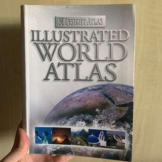 🚚 Illustrated World Atlas discovery book