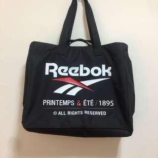 Reebok 經典LOGO 運動包 托特包 訓練袋 購物袋