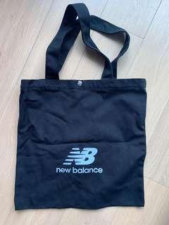 New Black Color New Balance Tote Bag