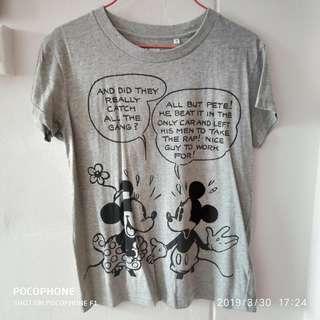 WOMEN Disney Grey Short Sleeve UT | #T-shirt #Uniqlo #Disney #ENDGAMEyourEXCESS