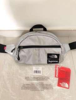Supreme x The North Face Metallic Waistbag (hip pack waist head porter tote bag backpack f/ce pouch lumbar shoulder palace stone island)