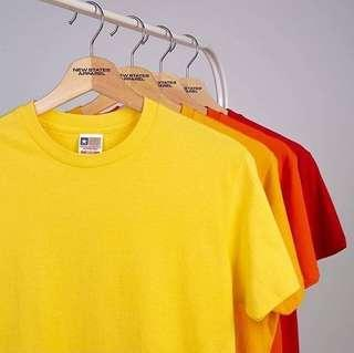 Kaos Polos New States Apparel Softstyle Cotton Combed 30s