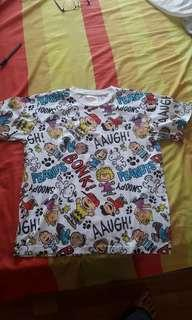Kaos Snoopy Ori