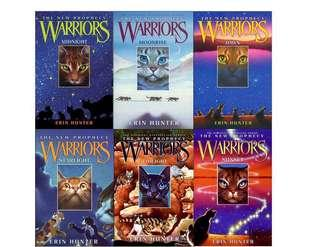 🚚 Warriors Series, Erin Hunter