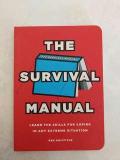 New book - The Survival Manual