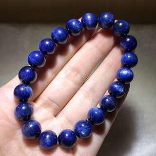 藍晶石水晶手鏈9.3mm