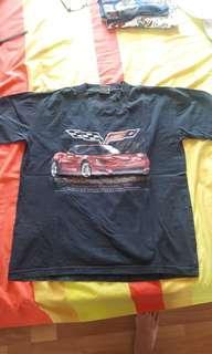 Kaos Hitam Chevrolet