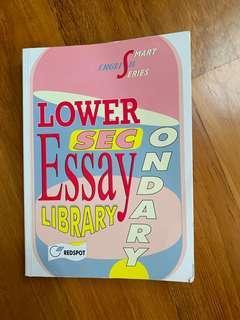 🚚 Lower Sec English Essay book