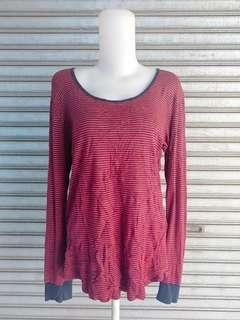 T-SHIRT STRIFED IMPORT WANITA GOOD QUALITY