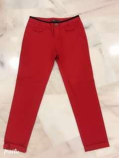 Kitchen Long Red Pants