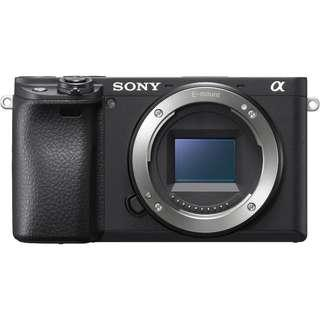 Sony a6400 Mirrorless Digital Camera (Body Only). Sony Malaysia Warranty 15 Month. FOC 64gb memory card,Extra Battery,Cleaning Kit and Body Strap